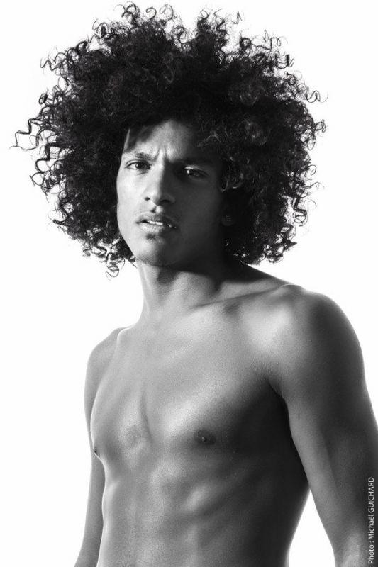 Portrait de Jamel Chaibi par Michael Guichard