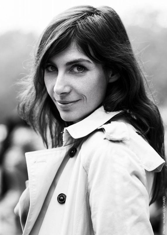 Portrait de Janine Piguet apr le photographe Michael Guichard