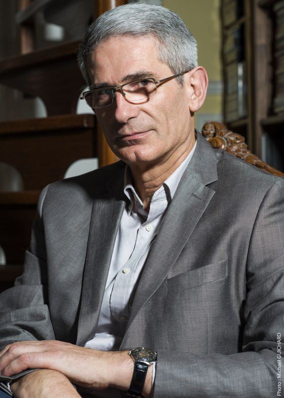Portrait de Charles Tesson par le photographe Michaël Guichard