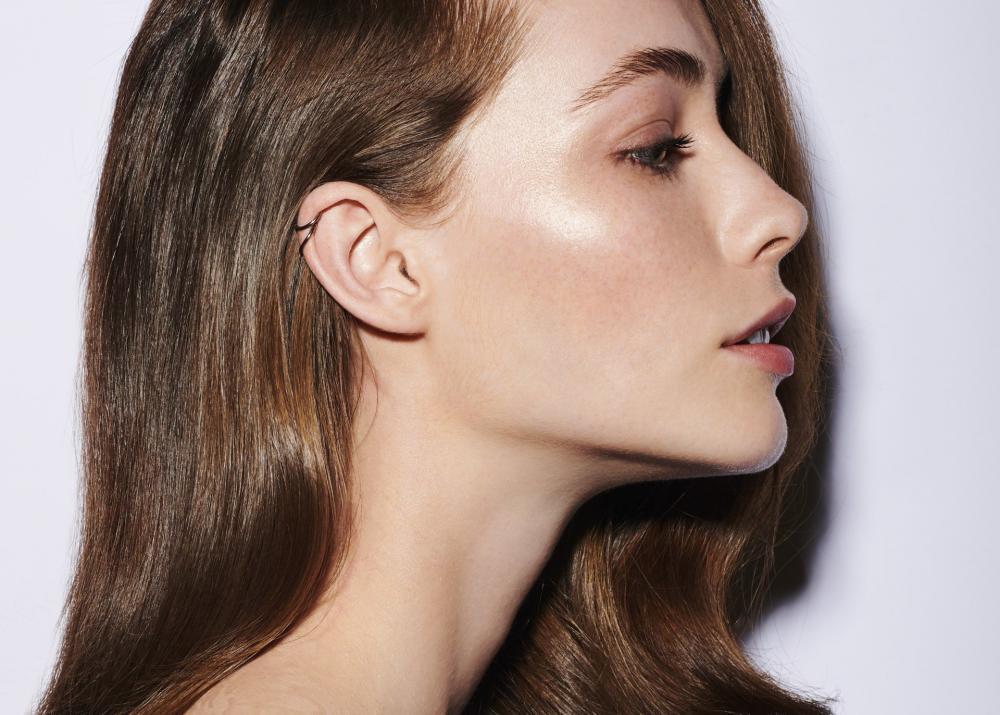 portrait beauté profil, coiffure, paris