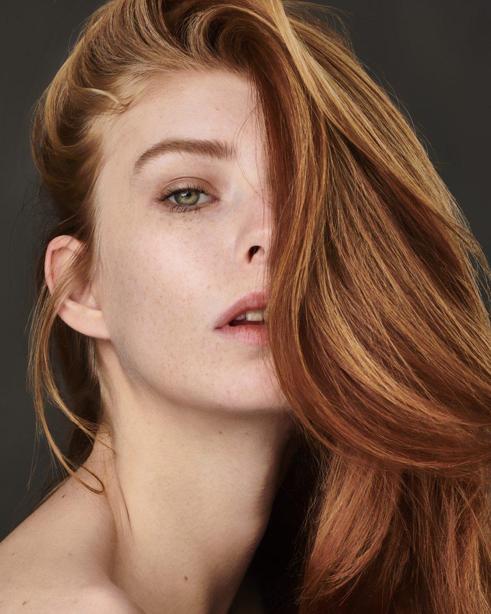 Portrait beauté de Marion Lucas - photographe Michaël Guichard