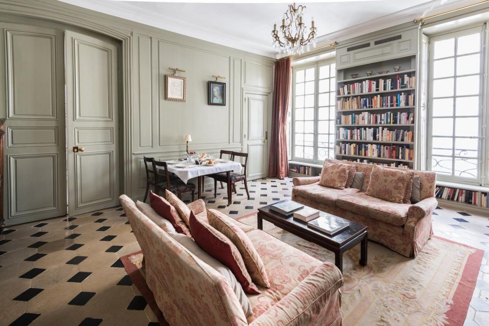 photo appartement parisien architecture