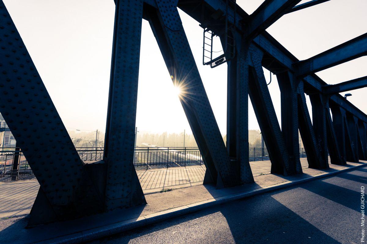 pont de la gare Valencienne