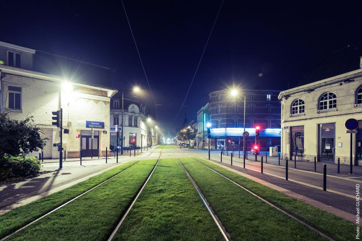 Valenciennes la nuit architecture