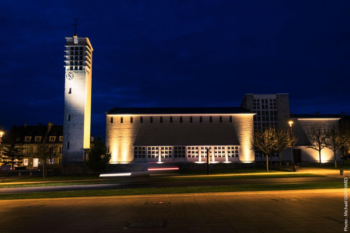 photographie de nuit architecture paysage urbain