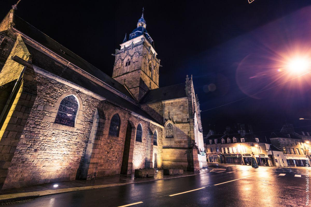 eglise photo nuit architecture